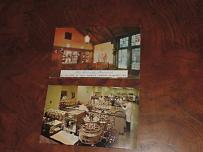 Antique Postcard Lot Pabst Stroh Brewery Brewing Co (pt368)