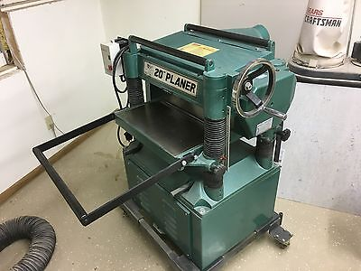 """Grizzly 20"""" Wood Planer 220V - 3HP"""