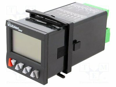 1 pc Counter: electronical; Display:2x LCD; Range: -999999÷999999