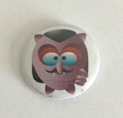DEVAST8 1-inch BADGE Button Pin Dracula Toon NEW OFFICIAL MERCHANDISE