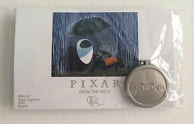 Disney Pixar Pin Party 2016 WALL-E From the Vault Pin & Mini Print LE 750