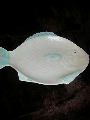 Lovely Art Deco Shorter and Sons 1930s Fish Server, Plate