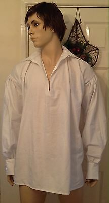 Mens Regency Napoleonic Mr Darcy Jane Austen Shirt Made To Measure