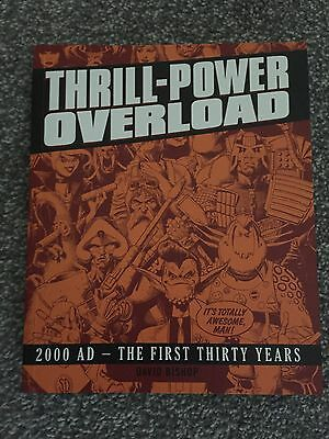 Thrill Power Overload -  NEW & UNREAD Rare & OOP Dave Bishop 2000AD FREE P+P