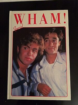 George Michael Wham special hardback annual book  1985