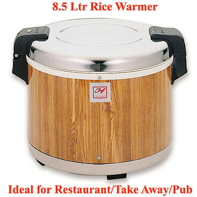 8.5 Litre COMMERCIAL ELECTRIC RICE WARMER IDEAL FOR RESTAURANT/TAKE AWAY/HOTEL