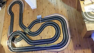 Scalextric sport digital track set and 2 digital porsche dpr cars choice of 8