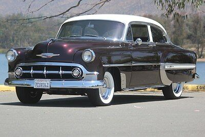1953 Chevrolet Bel Air/150/210  1953 Chevrolet Bel-Air Pristine Condition Just Finished $110,000 Restoration