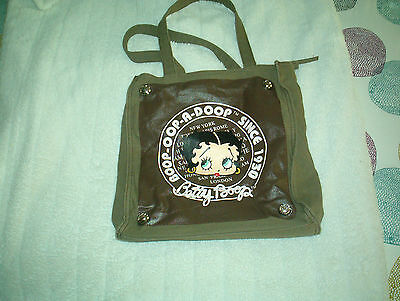 Betty Boop Tote 2008 King Features-12 x 12 x 3/12