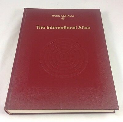 Rand McNally Hardback Atlas Book The International Atlas (1969)