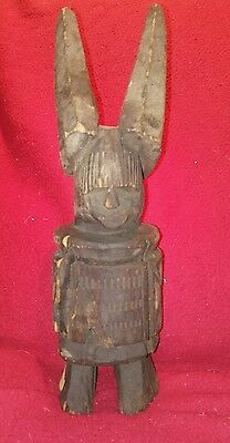 Antique New Guinea Tribal Warrior Statue