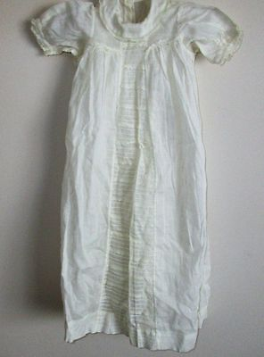 Long Antique White Baby Gown and Slip