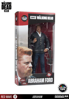 McFarlane Toys The Walking Dead - Abraham Ford 17cm Color Tops Figur