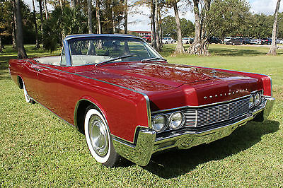 """1967 Lincoln Continental Base 1967 Lincoln Continental 4/door Convertible """"Spectacular $85,000 Restoration"""""""