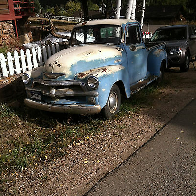 1954 Chevrolet Other Pickups 5 window deluxe 1954 Chevy 5 Window Deluxe 3100 1/2 Ton Pickup Truck with rare 4 speed hydramati