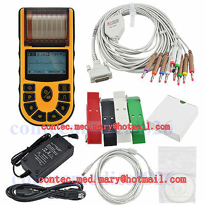 CE,FDA Passed,Hand-Held Single Channel ECG/EKG Monitor, with Printer,ECG80A,HOT