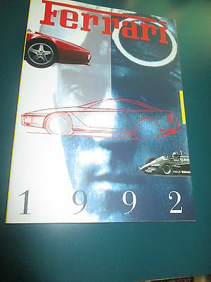Ferrari 1992 Annual Yearbook Annuario English Version # 759/93