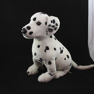 FAO SCHWARZ Dalmation Plush Dog Stuffed Animal 14""