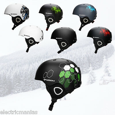 Professional Unisex Ski Helmets Skateboard Skiing Snowboard Protective Matte Cap