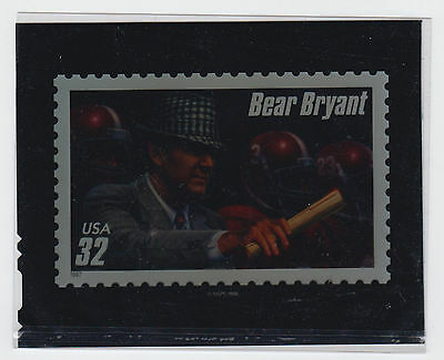 1997 32¢ Bear Bryant color transparency media photo essay Scott 3148