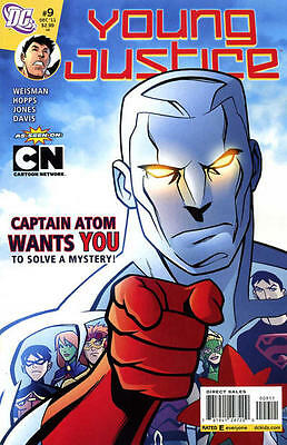 Dc Young Justice #9 Comic Captain Atom
