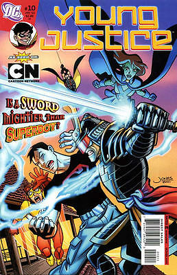 Dc Young Justice #10 Comic Captain Atom Superboy Robin