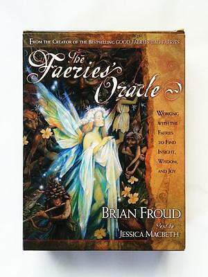 The Faeries Oracle By Brian Froud 66 Card Deck And 208 Page Guidebook Set