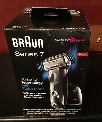 New and Sealed Braun Series 7 Shaver 797cc Electric Cordless Rechargeable Razor