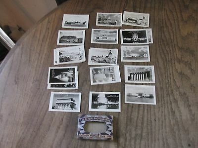Package Of 25 Genuine Photographs Chicago Worlds Fair 1934-In Mailing Envelope
