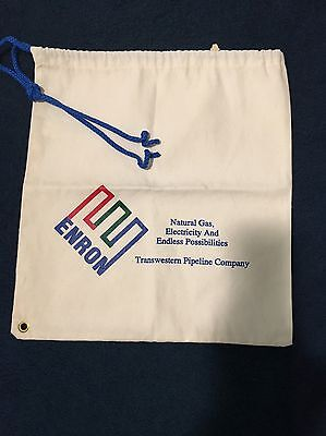Historical ENRON, NEW Large Heavyweight FABRIC Tote Bag