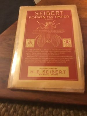 Old Seibert Poison Fly Papers