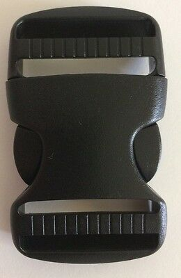 38mm Quick Side Release Buckle, Webbing, Dual Fix, ONE BUCKLE.