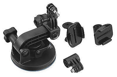 GoPro Accessories Suction Cup Mount Quick Release 424235 AUCMT-302 HERO 2