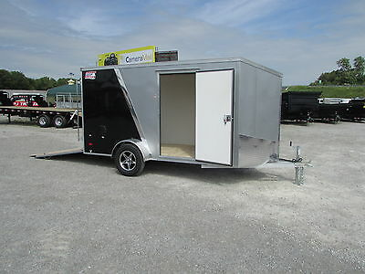New All Aluminum 6 X 12 Enclosed Trailer  *on Sale Now * Dr Trailer Sales