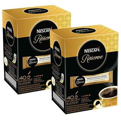 Nescafe Reserve Premium Instant Coffee BB 6/2017 (2 Pack)