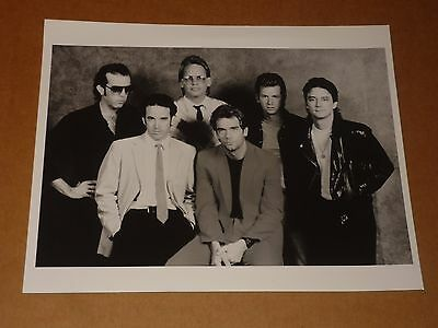 Huey Lewis & News 10 x 8 1984 Agency Publicity Photo