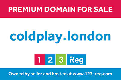 coldplay.london - premium domain name for sale
