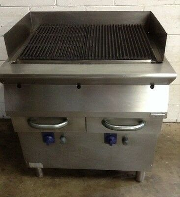 Electrolux Commercial Kitchen 6 Burner Stainless  Bbq Steak Char Grill.