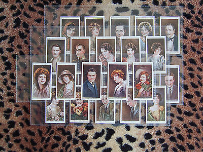 Cigarette Card : Wills : Cinema Stars (2nd Series) (1928) : Full Set