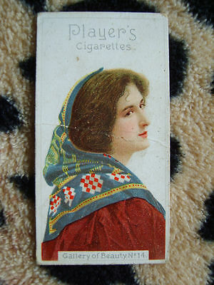 Cigarette Card : John Player & Sons : Gallery of Beauty Series (1896) : No 14