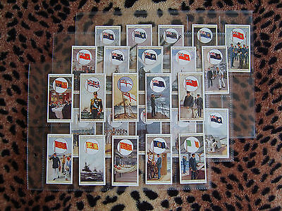 Cigarette Card : Wills : Flags of the Empire (A Series) (1926) : Full Set