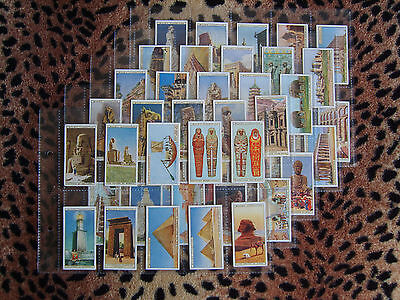 Cigarette Card : Wills : Wonders of the Past (1926) : Full Set