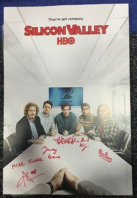 SDCC 2016 Exclusive: Silicon Valley Cast Signed poster