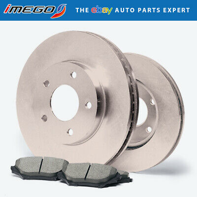 98 99 00 01 02 03 04 05 Civic Front Rotors w//Ceramic Pads OE Brakes