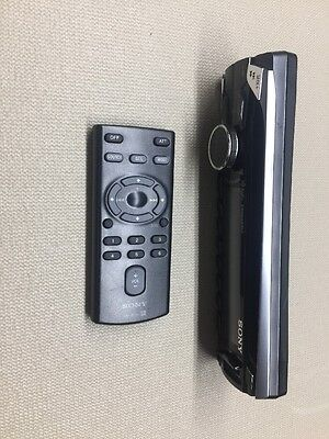 Sony Cdx-Gt710Hd Faceplate And Remote Control