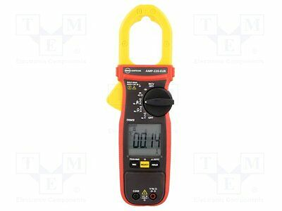 1 pc AC/DC digital clamp meter; ¨cable:35mm; I DC:0÷600A; True RMS