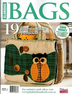 Glorious Bags Magazine 2015   Pattern Sheet Attached