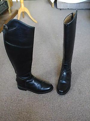 Mens Black Riding Boots size 41