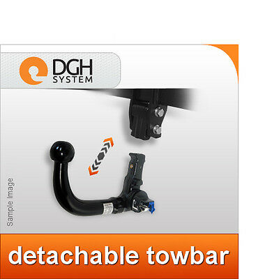 Towbar detachable vertical Toyota Avensis T27 Saloon 2009 on