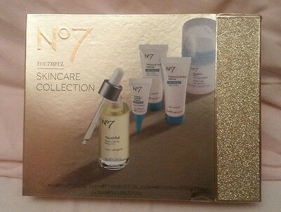 BNIB No7 Youthful Skincare Collection - Christmas 2016 Gift - Protect & Perfect